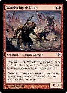 Wandering Goblins - Foil