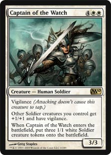 Captain of the Watch - Foil