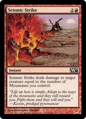 Seismic Strike - Foil