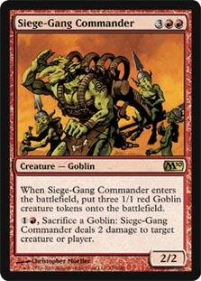 Siege-Gang Commander - Foil