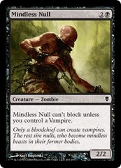 Mindless Null - Foil
