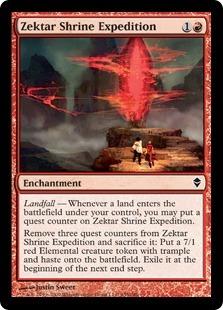 Zektar Shrine Expedition - Foil