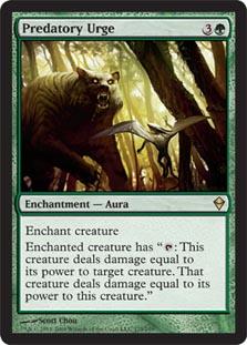 Predatory Urge - Foil