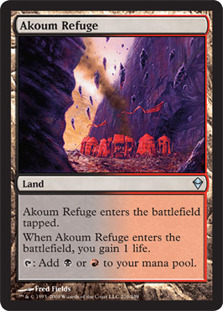 Akoum Refuge - Foil