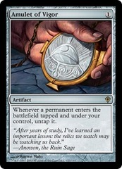 Amulet of Vigor - Foil on Channel Fireball