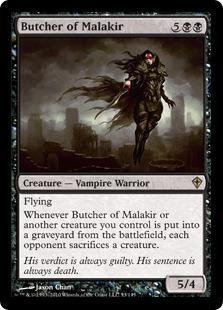 Butcher of Malakir - Foil