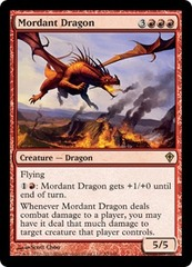 Mordant Dragon - Foil on Channel Fireball