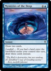 Mysteries of the Deep - Foil on Channel Fireball