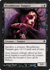 Bloodthrone Vampire - Foil on Channel Fireball