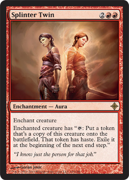 Splinter Twin - Foil