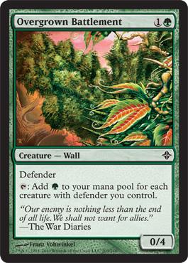 Overgrown Battlement - Foil