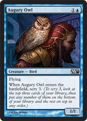 Augury Owl - Foil on Channel Fireball