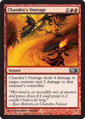 Chandra's Outrage - Foil on Channel Fireball
