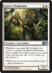 Ajani's Pridemate - Foil on Channel Fireball