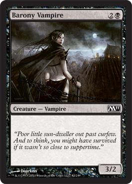 Barony Vampire - Foil