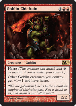 Goblin Chieftain - Foil