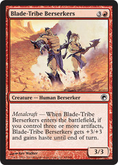 Blade-Tribe Berserkers - Foil on Channel Fireball