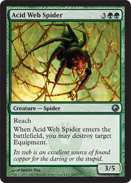 Acid Web Spider - Foil