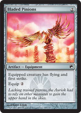 Bladed Pinions - Foil