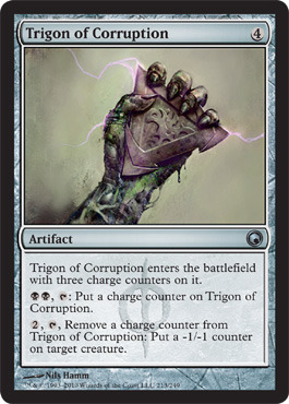 Trigon of Corruption - Foil
