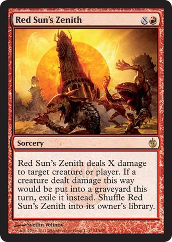 Red Suns Zenith - Foil