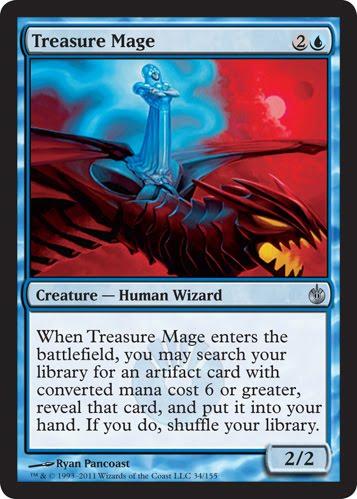 Treasure Mage - Foil
