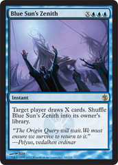 Blue Sun's Zenith - Foil on Channel Fireball