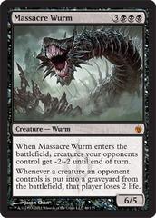 Massacre Wurm - Foil