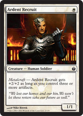 Ardent Recruit - Foil on Channel Fireball