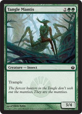 Tangle Mantis - Foil
