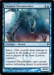 Chained Throatseeker - Foil