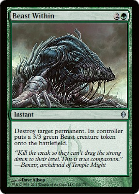Beast Within - Foil