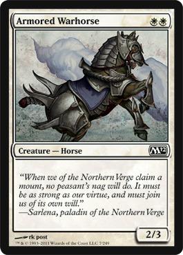 Armored Warhorse - Foil