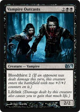 Vampire Outcasts - Foil