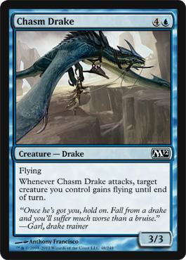 Chasm Drake - Foil