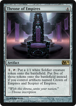 Throne of Empires - Foil