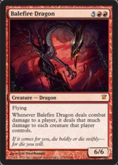 Balefire Dragon - Foil on Channel Fireball