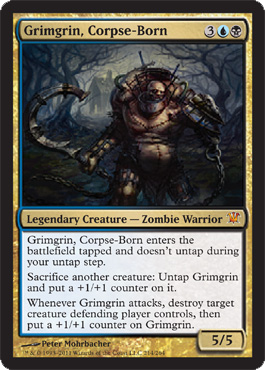 Grimgrin, Corpse-Born - Foil
