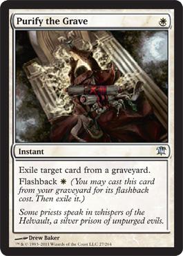 Purify the Grave - Foil