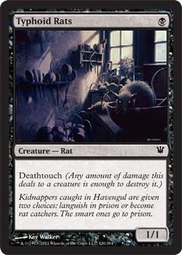 Typhoid Rats - Foil