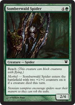 Somberwald Spider - Foil