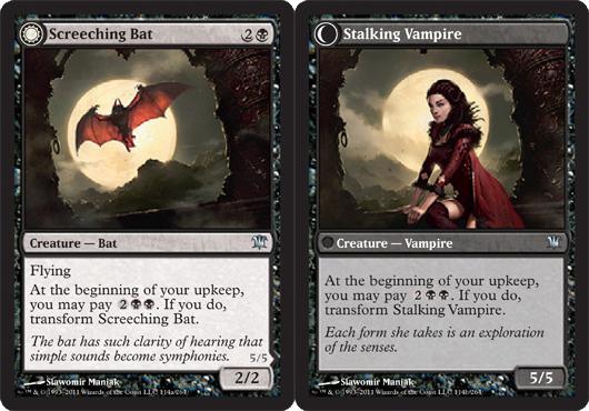 Screeching Bat // Stalking Vampire - Foil