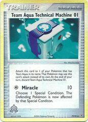 Team Aqua Technical Machine 01 - 79/95 - Uncommon - Reverse Holo
