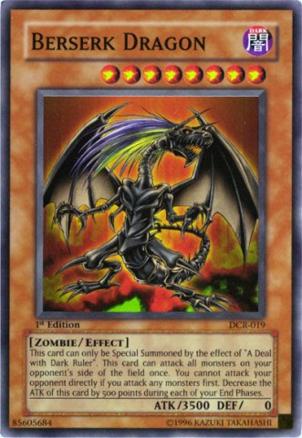 Berserk Dragon - DCR-019 - Super Rare - Unlimited Edition