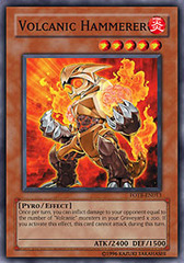 Volcanic Hammerer - FOTB-EN013 - Common - Unlimited Edition