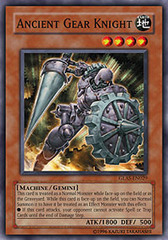 Ancient Gear Knight - GLAS-EN029 - Common - Unlimited Edition on Channel Fireball