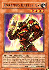 Enraged Battle Ox - IOC-070 - Rare - Unlimited Edition