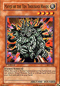 Manju of the Ten Thousand Hands - IOC-088 - Common - Unlimited Edition