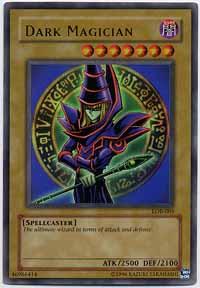 Dark Magician - LOB-005 - Ultra Rare - Unlimited Edition
