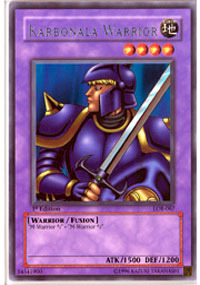 Karbonala Warrior - LOB-067 - Rare - Unlimited Edition
